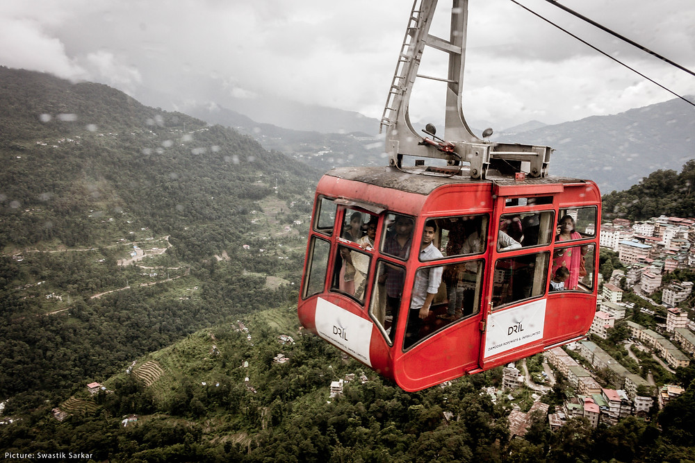 Gangtok Ropeway Service | Things to do in Sikkim