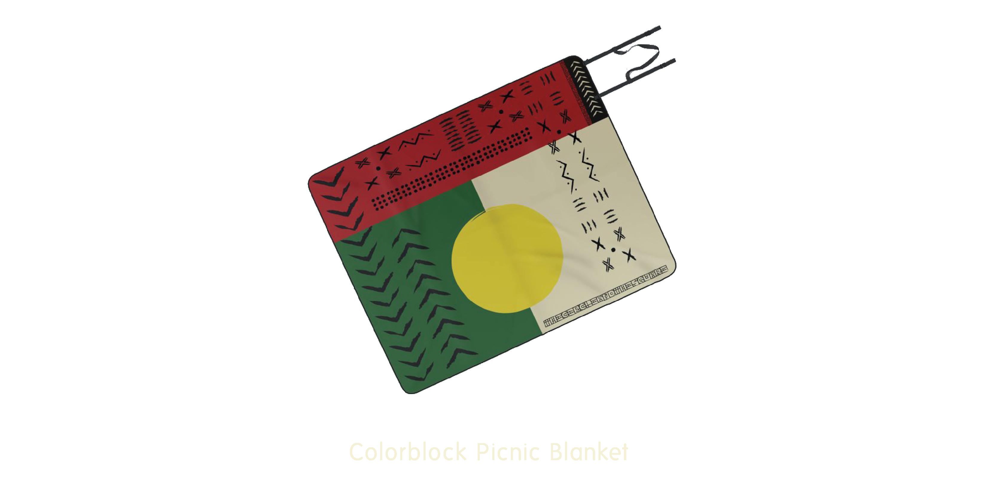 Colorblock Picnic Blanket