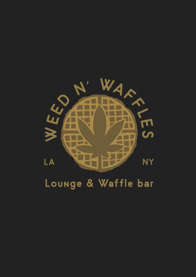 Weed N' Waffles Logo