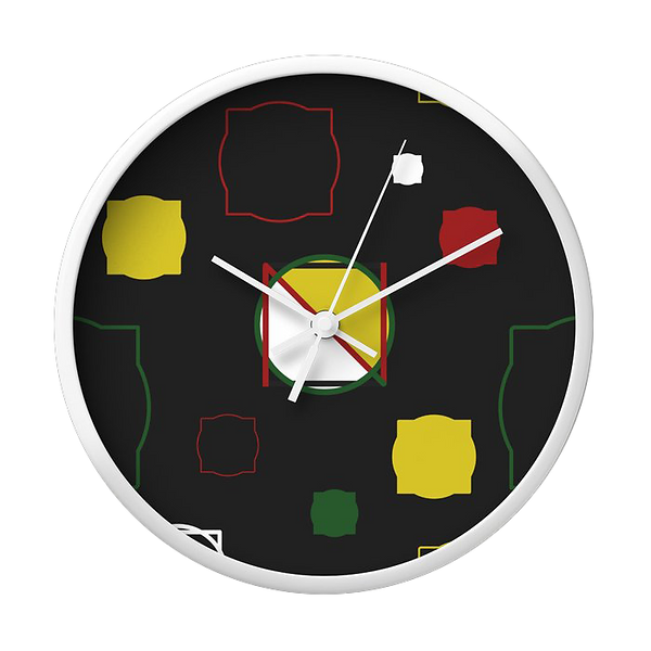 Logo Love Wall Clock | The Circle & The Square | Society6