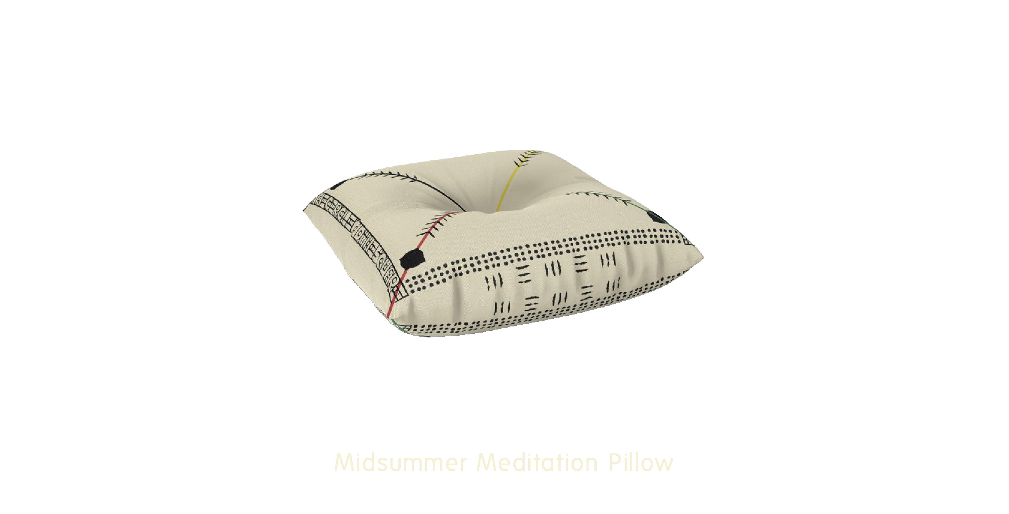 Midsummer Meditation Pillow