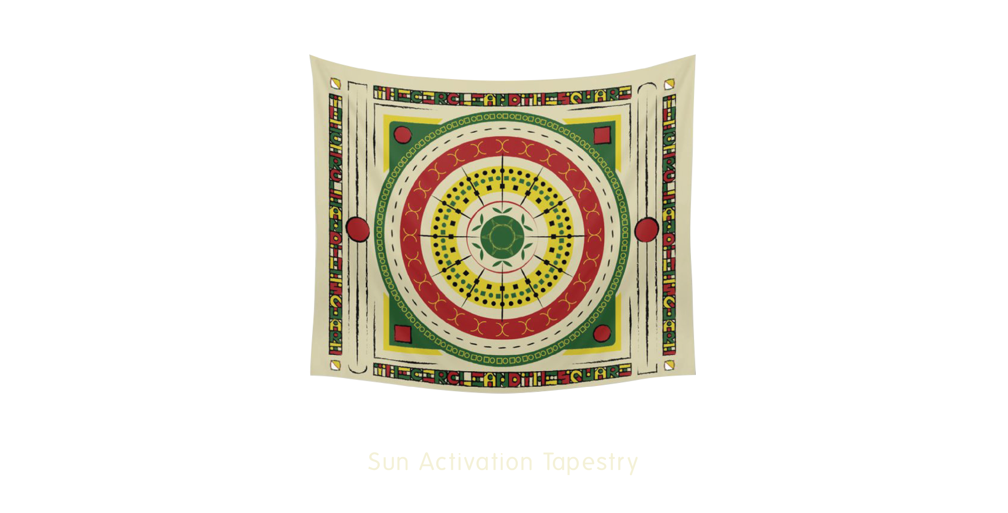 Sun Activation Tapestry