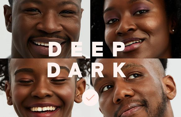 Deep Dark By Exa Beauty | The Circle & The Square