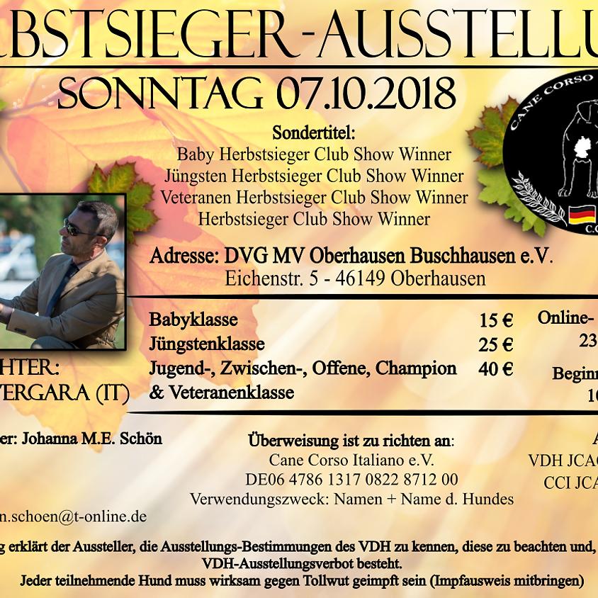 CCI Autumn Winner - Herbstsiegerausstellung 2018 (1)
