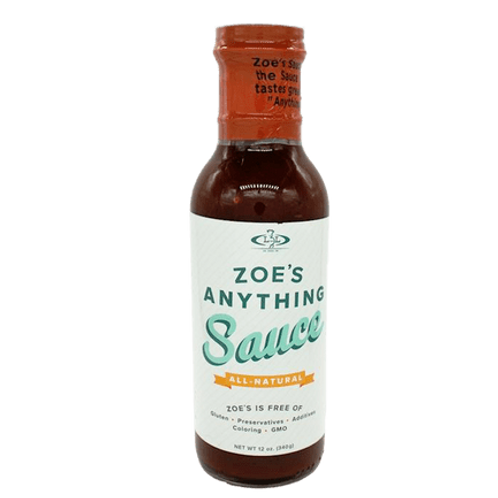 Zoe's Anything Sauce, 12 oz.