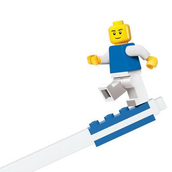 The Crafty Creative Blue Gel Lego Pen