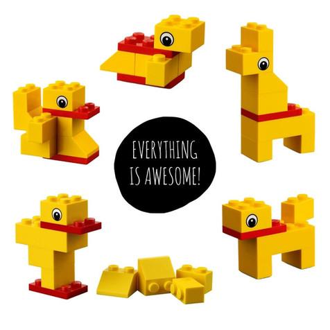 the crafty creative mini buil kits LEGO STATIONERY