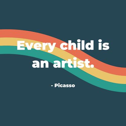 The Crafty Creative - Quotation Child Artist