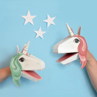 The Crafty Creative - Unicorn Puppets