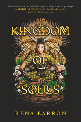 KINGDOM OF SOULS (#1) by RENA BARRON