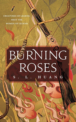 BURNING ROSES by SL HUANG