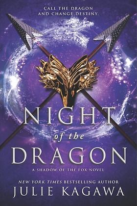 NIGHT OF THE DRAGON (SHADOW OF THE FOX #3) by JULIE KAGAWA