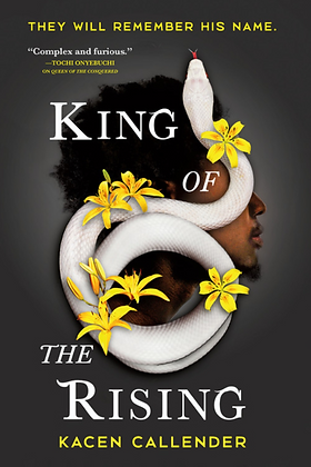 KING OF THE RISING (ISLANDS OF BLOOD & STORM #2) by KACEN KALLENDER