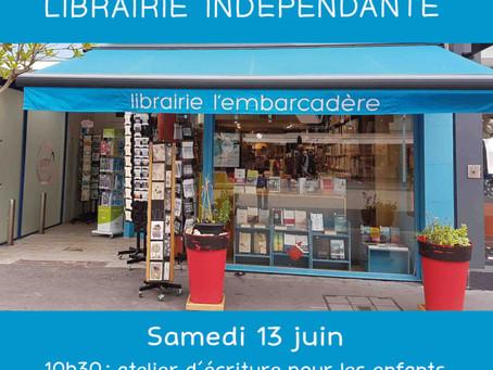 Samedi 13 juin : Fête de la Librairie indépendante (San Jordan)