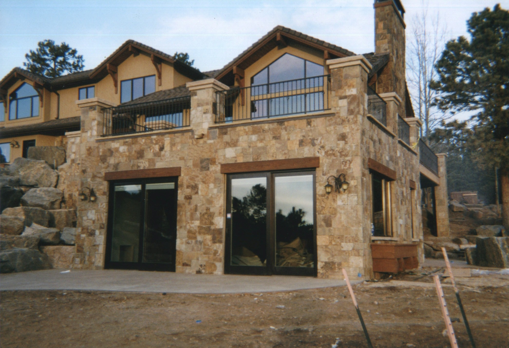 Stone work addition