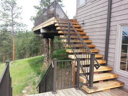 Custom Deck, Railings and Columns