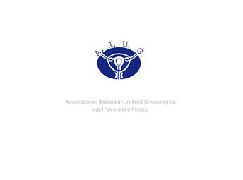 Associazione Italiana di Urologia Ginecologica e del Pavimento Pelvico