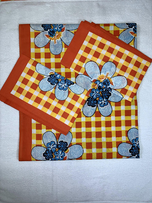 100% Cotton bedsheet with pillow cover handloom