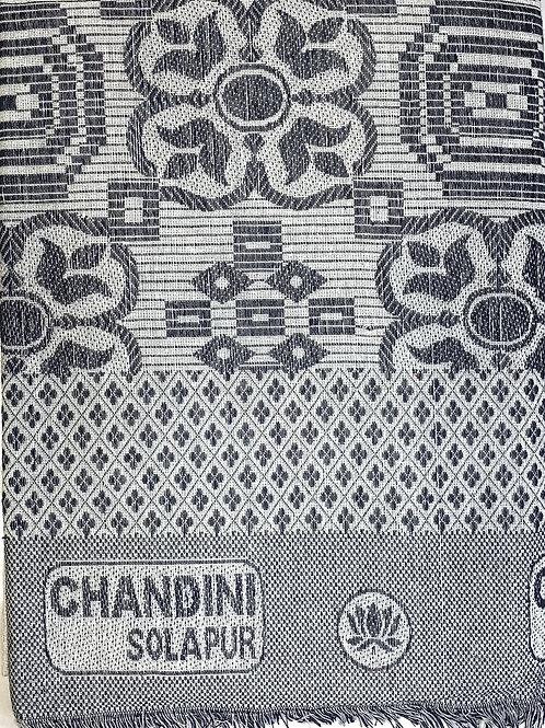 Solapur's handloom chadars. size 60cm*90cm