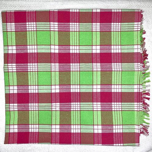 #19    Cotton single bedsheet square colour 100% pure cotton.