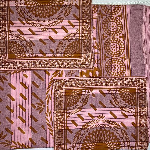 #86  | 100% Cotton Single Bedsheet  fresh colours 1+2
