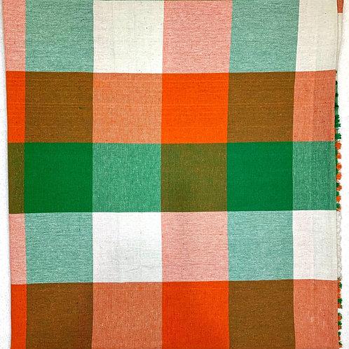 #20  | Cotton single bedsheet square colour 100% pure cotton.