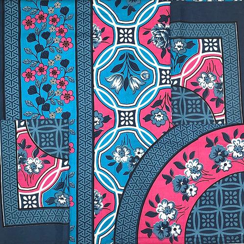 #90  | Cotton Single Bedsheet fresh colours 100% pure cotton 1+2