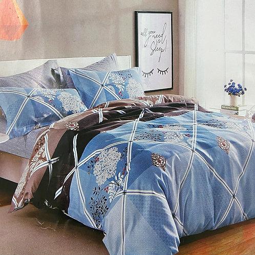 #101     Cotton double bedsheets 1+2