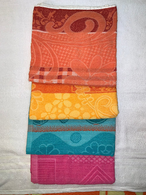 100% cotton towels fresh colour. size 30cm*60cm