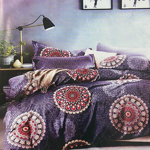 #102  | 100% Cotton Double Bedsheets 1+2