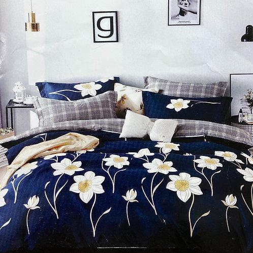 #103  | 100% Cotton Double Bedsheets 1+2
