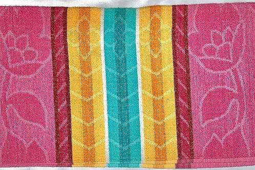 #22    100% cotton towels fresh colour. size 30cm*60cm