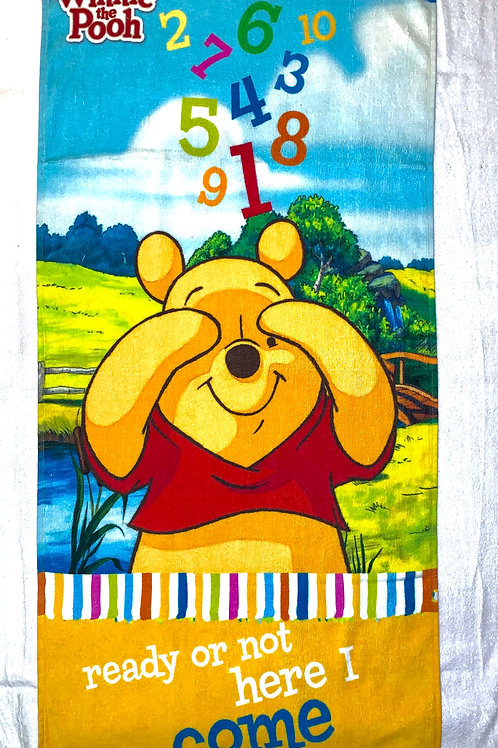 cartoon printed fresh colour kids towel. 24 inch x 47 inch