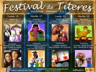 La Agrupación Educacional y Cultural Abanico en el Festival de Títeres 2015