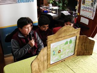 Lecturas con kamishibai este 23 de noviembre en Paillaco y el 02 de diciembre en la Escuela Rural Ar