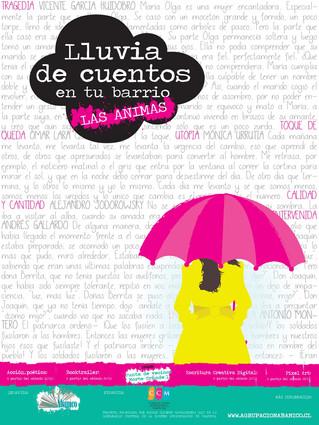 Pronto lloverá cuentos en el barrio Las Ánimas