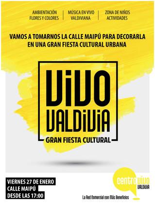 La Agrupación Abanico estará presente en la actividad VIVO VALDIVIA en la Calle Maípu