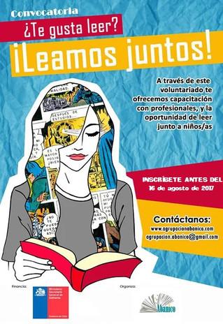 Sexta convocatoria a voluntarios/as: Leamos Juntos