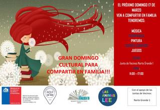 Domingo Cultural en Familia - Plan de Fomento Lector Las Ánimas