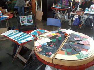 Participamos en la IV Feria de maquetación creativa del Hampton College