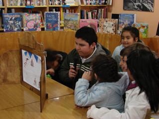 """El proyecto """"Kamishibai"""" termina en 4 Escuelas de la Región de los Ríos."""