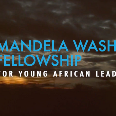 Mandeal Washington Fellowship 2016