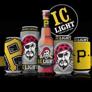 """Pittsburgh Brewing company """"Lets Go Bucs"""""""