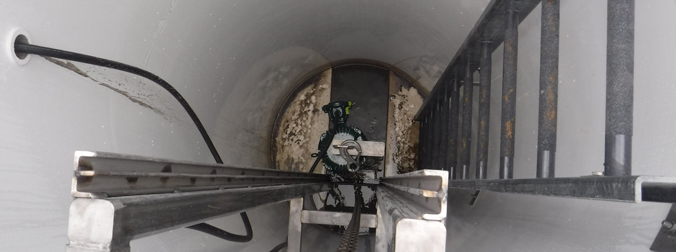 JWC M3 Monster Manhole – Package system with Muffin Monster installed in FRP manhole