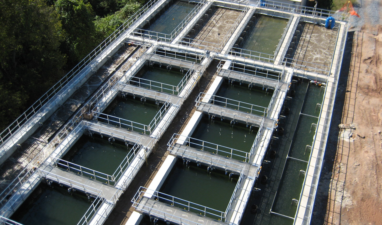 Aero-Mod biological nutrient removal (BNR) wastewater treatment plant