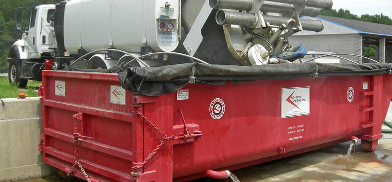 Flo Trend Roll Off Sludge Mate for dewatering municipal and industrial sludges