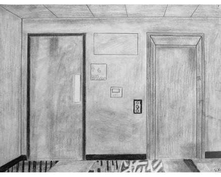 """""""Hallway"""" by Rianna"""