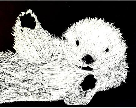 """Otter"" by Makena"