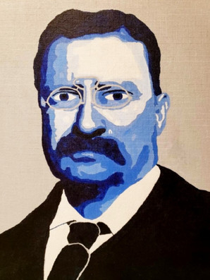 """Theodore Roosevelt"" by Robin"