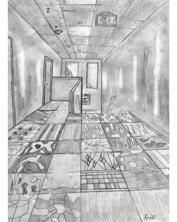 """Hallway"" by Dylan"